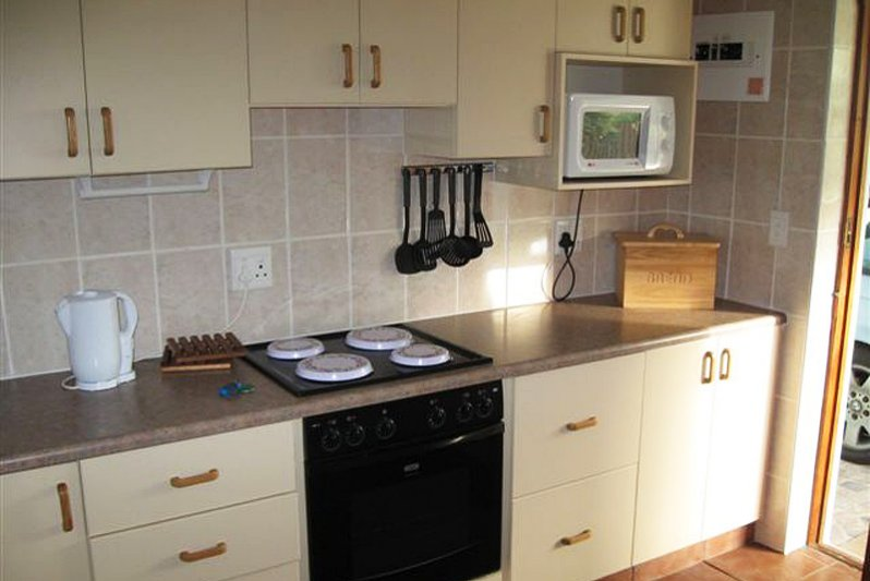 Full size stove with oven plus microwave