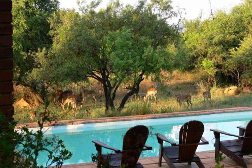 View of Segaia Bush Lodge