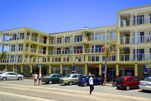 1/8 - Neptune Terrance Front view of building - Jeffreys Bay Self Catering Apartment Accommodation