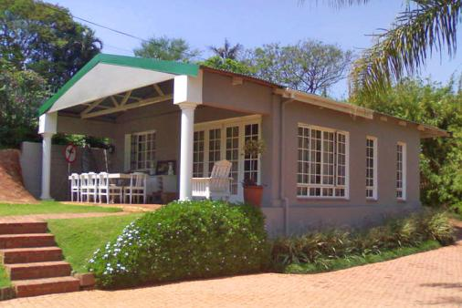 1/19 - The cottage as seen from the main house - Self Catering Cottage accommodation in Durban North
