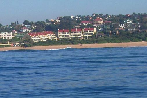 1/13 - View of Summerplace from the ocean - Self Catering Apartment Accommodation in Shelly Beach