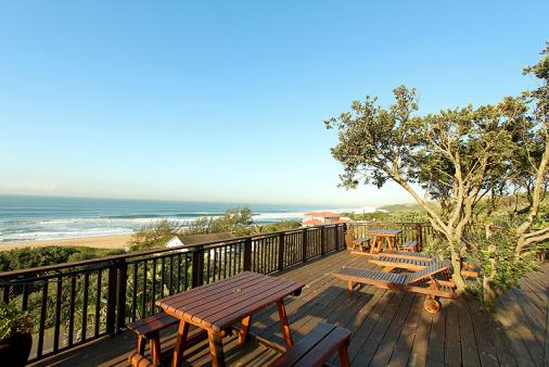 1/12 - Breathtaking views from the Deck - Bed & Breakfast Accommodation in Tinley Manor, North Coast