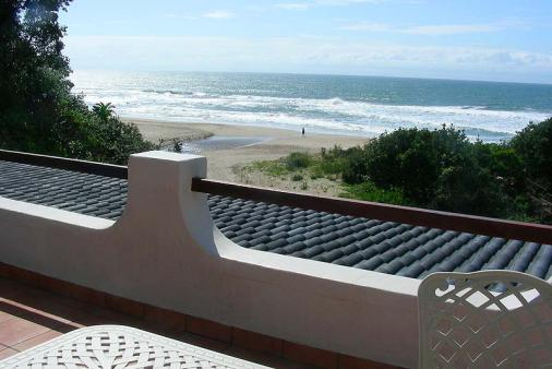 1/8 - View from Balcony - Self Catering Apartment Accommodation in Leisure Bay