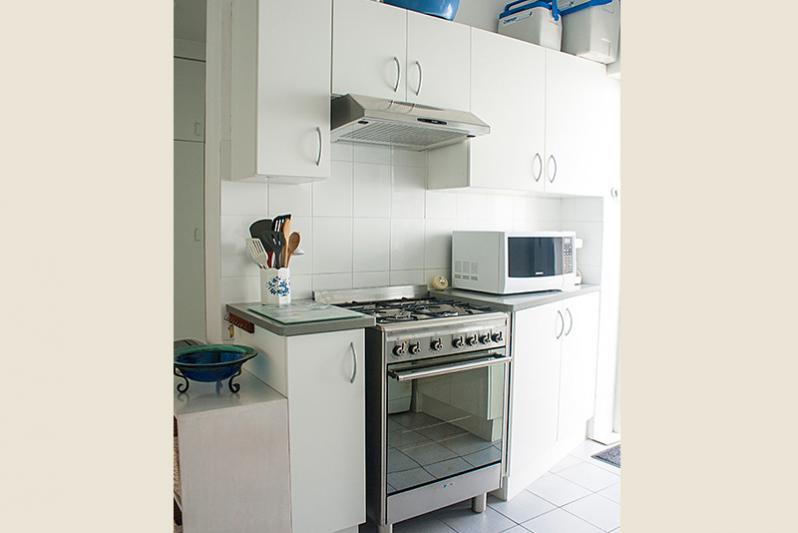 Gas hob new kitchen