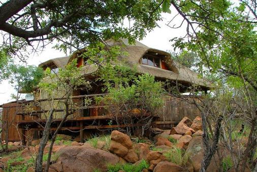 View of KUKAMA Camp at Mabalingwe