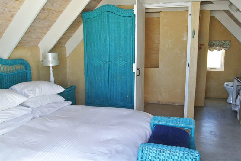 Upstairs bedroom with own bathroom and view