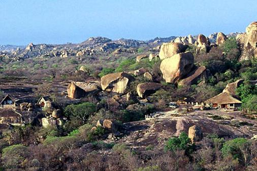 1/12 - Big Cave Camp - Catered Bush Lodge Accommodation in Matobo Hills, Zimbabwe