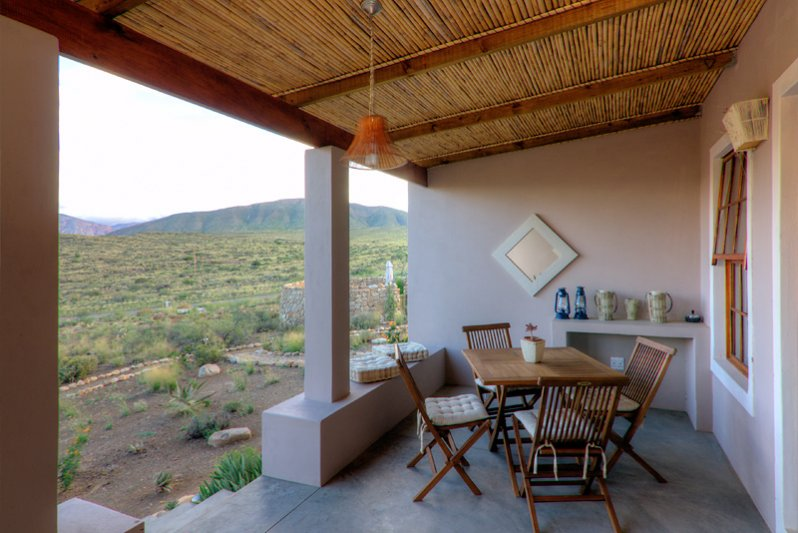 Stoeps of our Karoo View Cottages