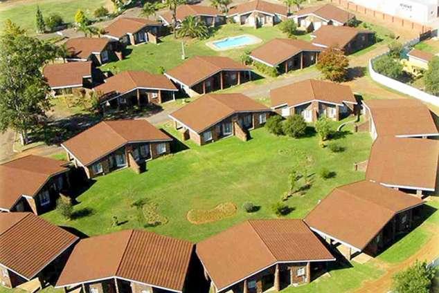 1/12 - Arial view of Majuba Lodge