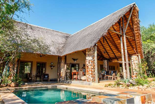 1/57 - Shikwari Suites TGCSA 4 Star Graded Main area with pool