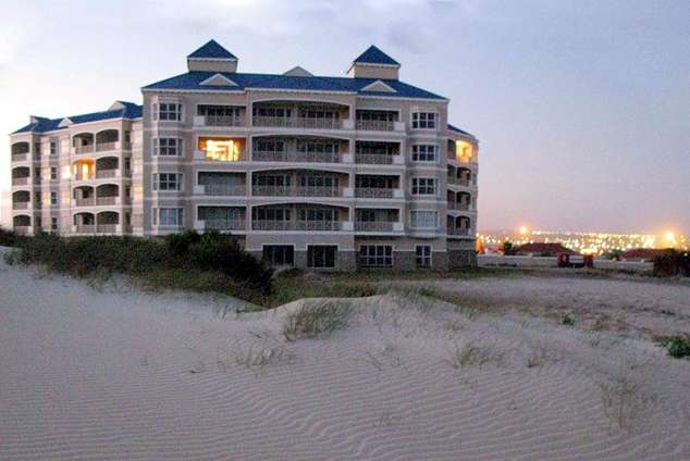 1/8 - View from the beach - Self Catering Apartment Accommodation in Jeffreys Bay