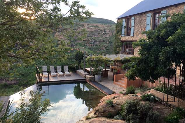 Ridge Rd Country House - Clarens Accommodation. Clarens