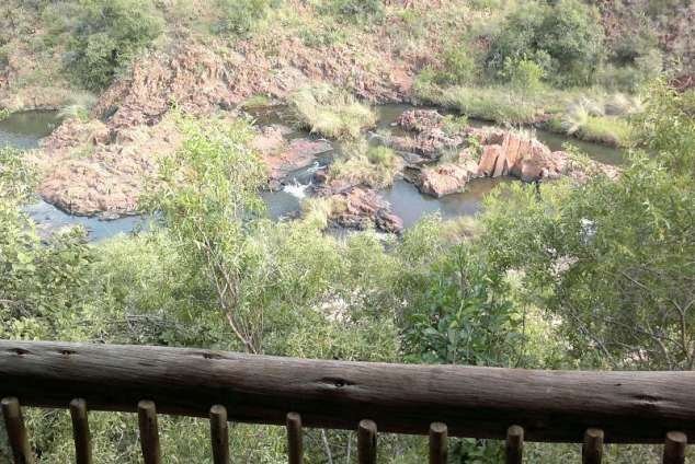 1/12 - KlipKuile- the river viewed from the Bush Camp uitkyk