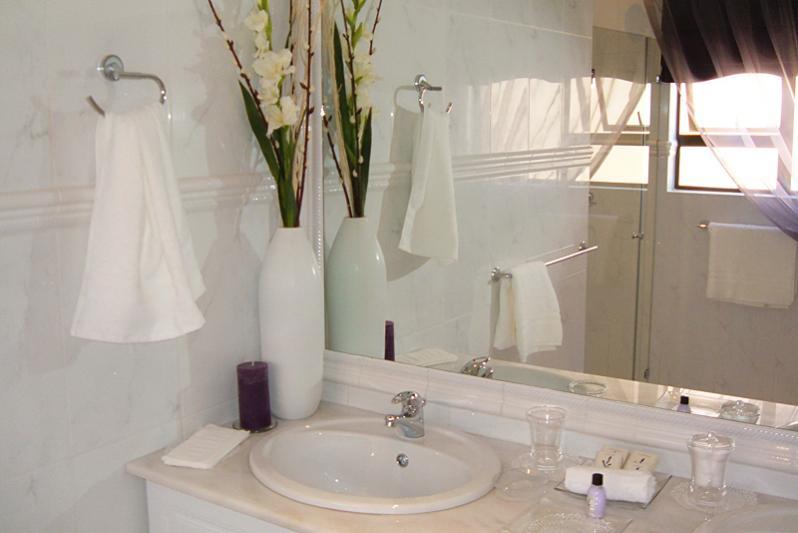 fresh spacious bathrooms