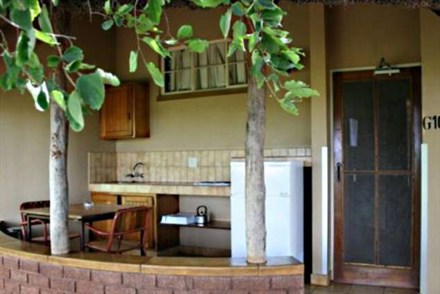 1/28 - Bungalow Kitchen - Satara Restcamp, Kruger National Park, Mpumalanga