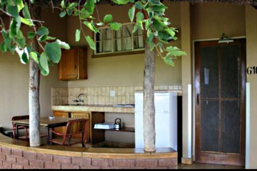 1/28 - Bungalow Kitchen - Satara Restcamp, Kruger National Park, Mpumalanga