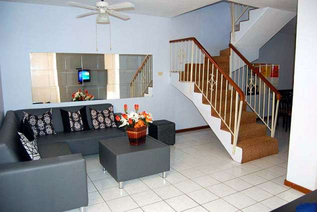 1/8 - Lounge - 4 Isabella Gardens, Self Catering Accommodation in Morningside, Durban
