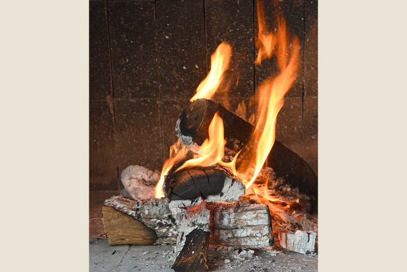 Fire for comfort or for braai and a lekker kuier on the patio