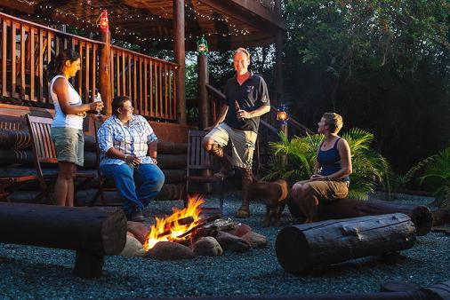 1/12 - Umkhumbi Lodge campfire