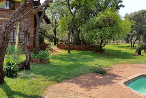 View of Galago Private Bush Lodge