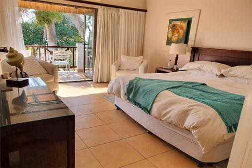 1/25 - Main bed (King size bed), Sea facing Patio, Aircon