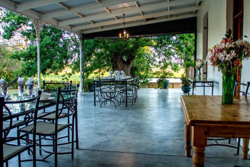 Homestead - patio