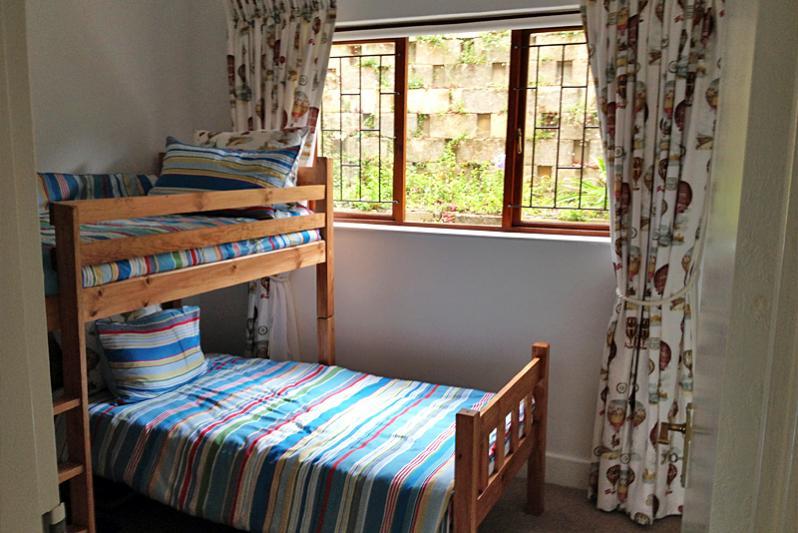 Kids room with bunk beds