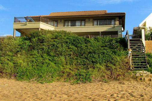 1/20 - View of the house from The Beach - Self Catering House Accommodation in Salt Rock