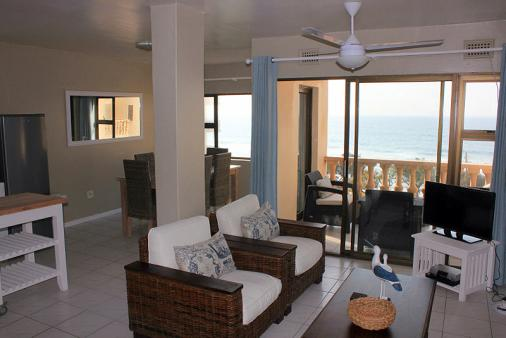 1/12 - Self Catering Beachfront Apartment Accommodation in Umdloti Beach