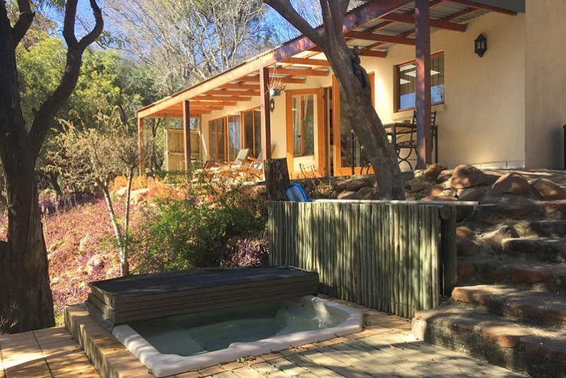 River cottage/ Splash pool .