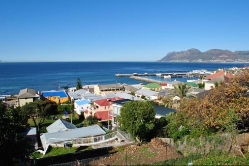 View of Belmont House Kalk bay