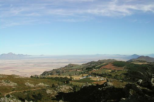 1/20 - View towards Piketberg