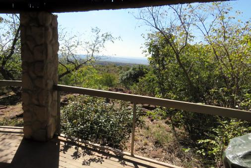 View of Bushveld Cottage