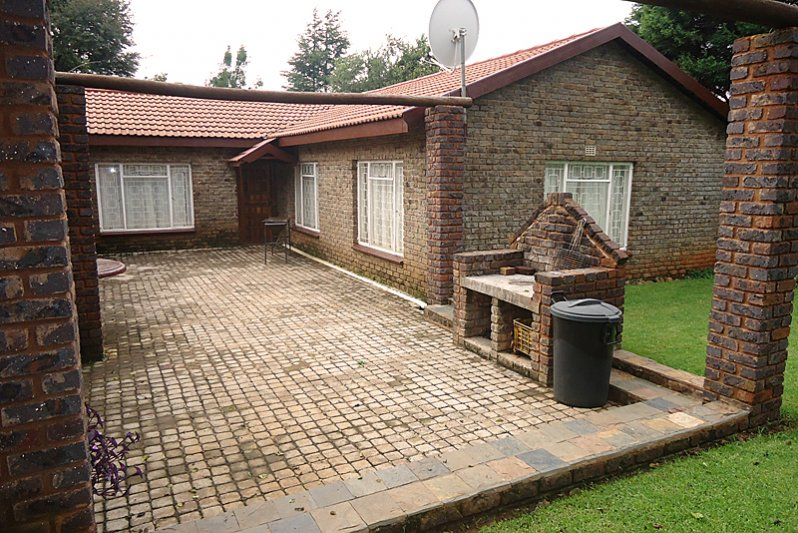 Farmhouse courtyard