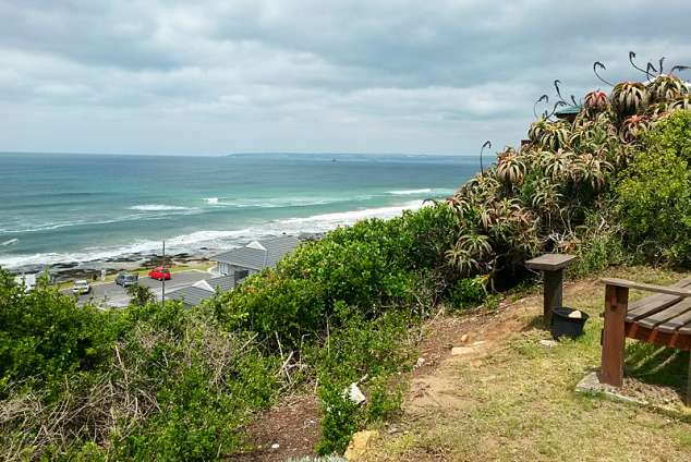 1/14 - View towards Mosselbay