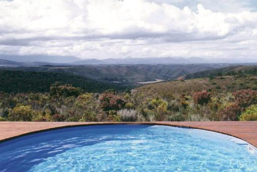1/20 - Studio s/c units comunal pool and view on Protea Wilds Retreat