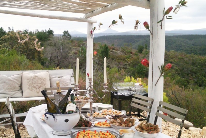 Protea Wilds Retreat romantic picnic area