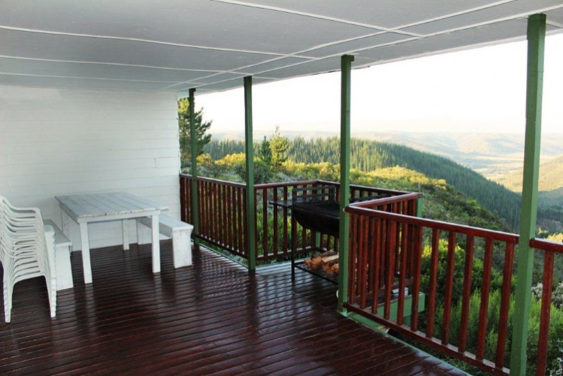 Bitou Valley House deck view