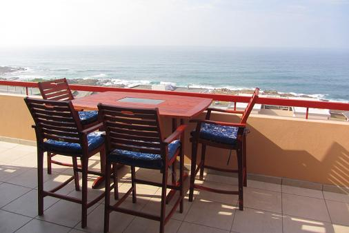 1/14 - Balcony - Self Catering Apartment Accommodation in Manaba Beach, South Coast