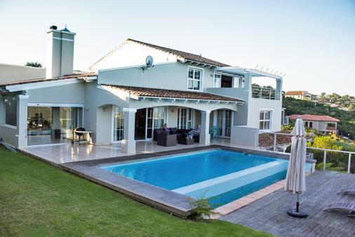 View of Plettenberg Bay Villa