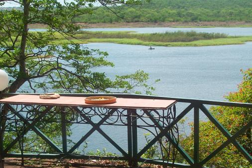 1/18 - View from outside deck looking over Mlibizi Bay