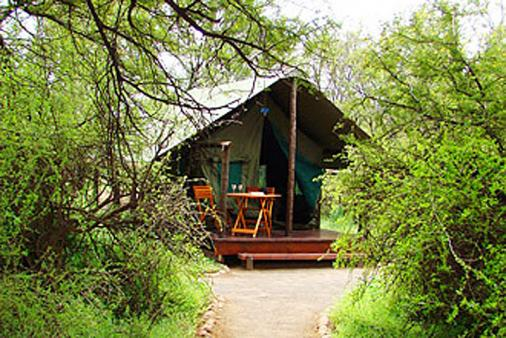 1/14 - Tented accommodation in Camdeboo National Park