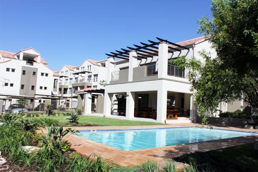 View of Victoria Apartments, Sandton