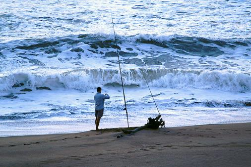1/18 - Fishermen love The Spot - almost always guaranteed a catch