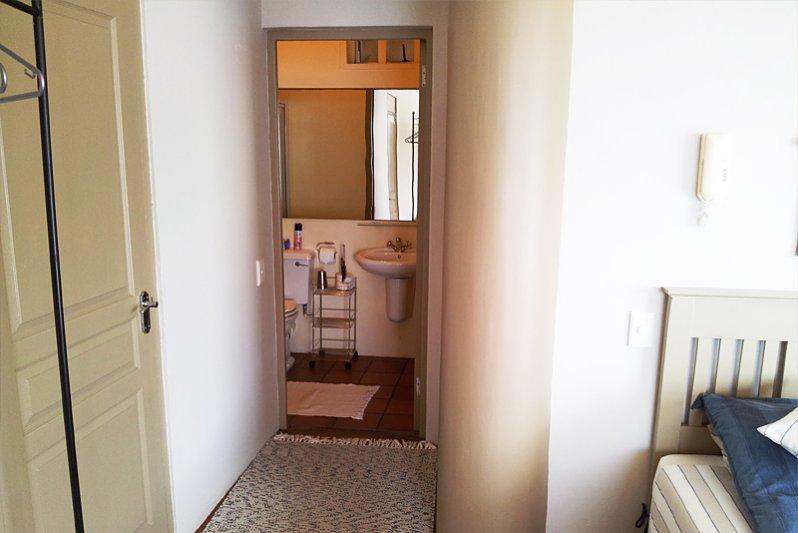Toward bathroom