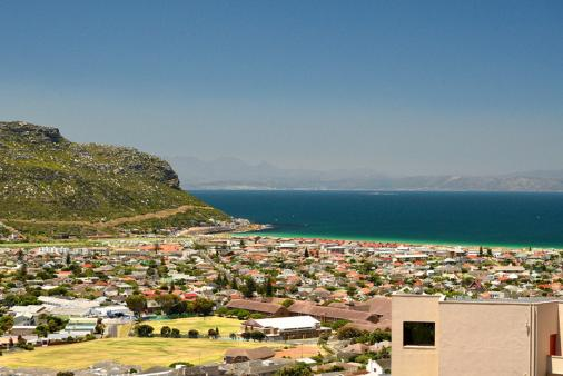 View of Berg and Beach