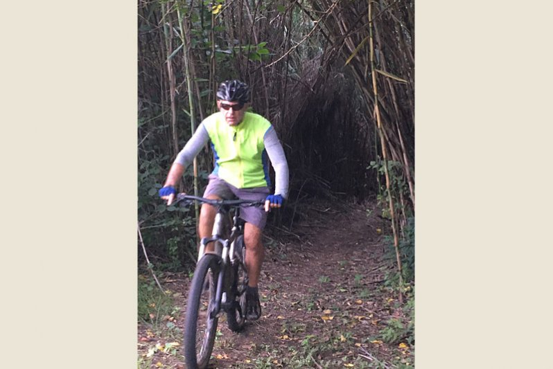 Our in - house cycle & walking trail of 10 km