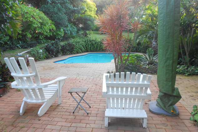 1/16 - Private pool area for your exclusive use in scenic garden