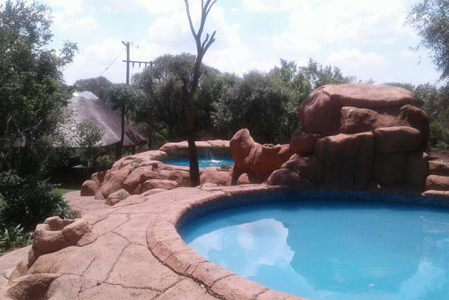 1/20 - Newly renovated rock pool and baby pool