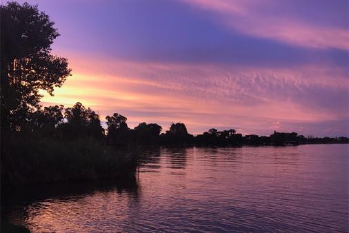 1/19 - Loch Vaal Moody Sunset